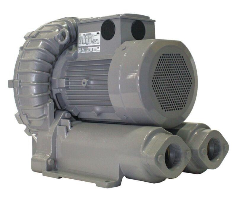 Vfz901a-7w Fuji Regenerative Blower 14.7 Hp, 208-230/460 Volts