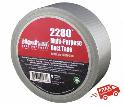 Industrial Duct Tape 1-78 X 60 Yd. 9.00 Mil Thick Gray Coated Cloth 1 Ea