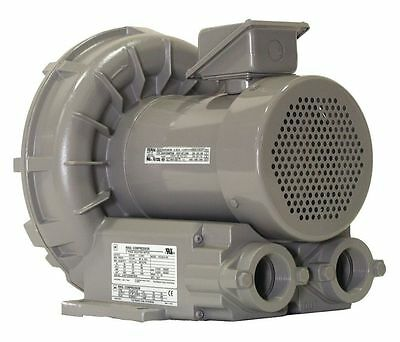Vfz401a-7w Fuji Regenerative Blower 1.4 Hp 208-230460 Volts