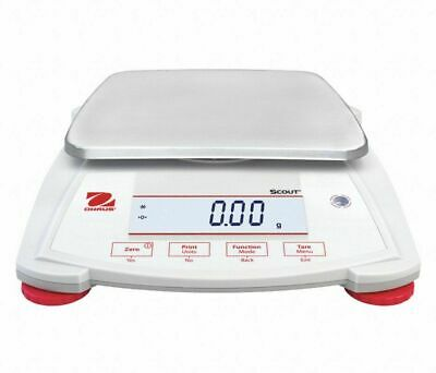 Ohaus Spx2202 Digital Lcd Compact Bench Scale 2200g Capacity New In Box