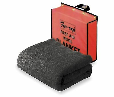 Safety Fire Blanket And Pouch - New In Box Fyr-rap 4t178