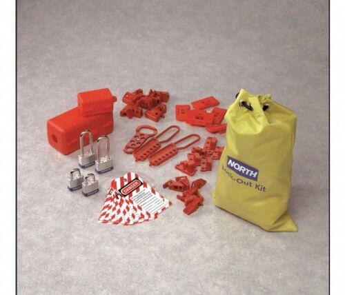 Honeywell Portable Electric Lockout Tagout Kit Filled Bag LK108FE