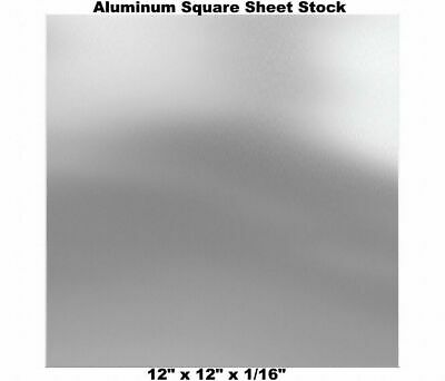 12 X 12 X 116 Aluminum Square Sheet Stock 3003 Alloy Mill Finish Plate