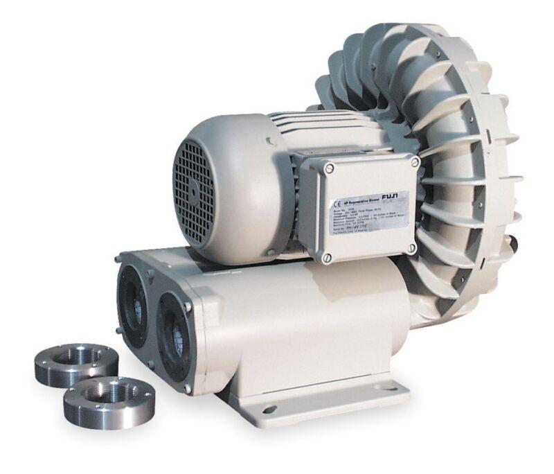 Vfd5-l Fuji Regenerative Blower 4 Hp, 11.6 Amps, 230 Volts