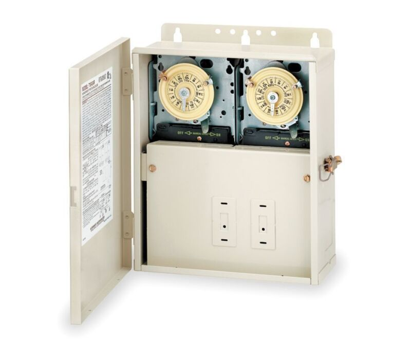 Intermatic T10404R Two Timers in One for Pool & Spa