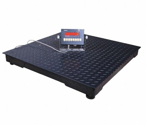 PS3000-55-5N 2300KG / 5000 LB Digital LED Floor Scale with Remote