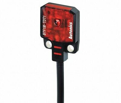 Autonics Btf1m-tdtd 19mm Dark On Rectangular Photoelectric Through Beam Sensor