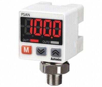 Autonics Psan-lc01cpa-npt18 Programmable Compact Fluid Air Pressure Sensor