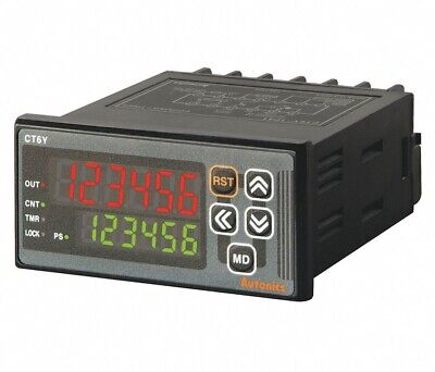 Autonics Ct6y-2p2 6-digit 24vac24 To 48vdc Input Voltage Digital Countertimer