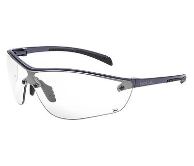 Pair Clear Lens Bolle 40237 Silium Anti Fog Scratch Resistant Safety Glasses
