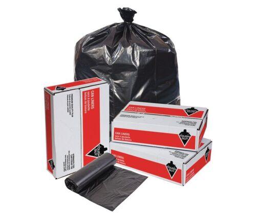 55 gal. Extra Heavy Trash Bags Black 0.70 mil - Box of 100