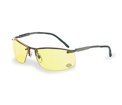 Harley Davidson® Amber Sunglasses Sun Glasses Riding Biker Motorcycle (Amber Sun Glasses)