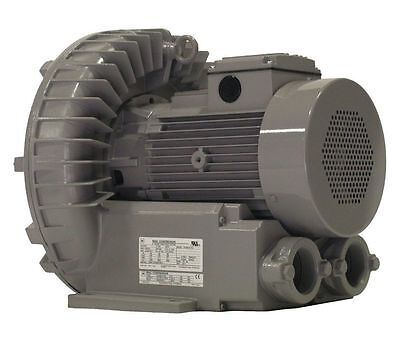 Vfz601a-7w Fuji Regenerative Blower 5 Hp 208-230460 Volts
