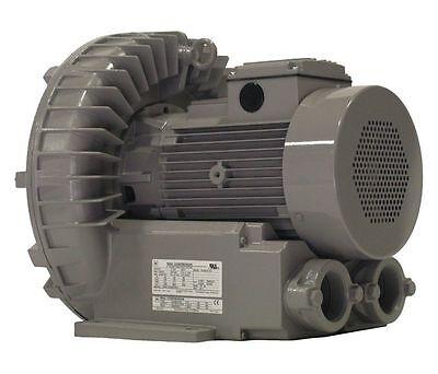 Vfz601a-7w Fuji Regenerative Blower 5 Hp 208-230460 Volts