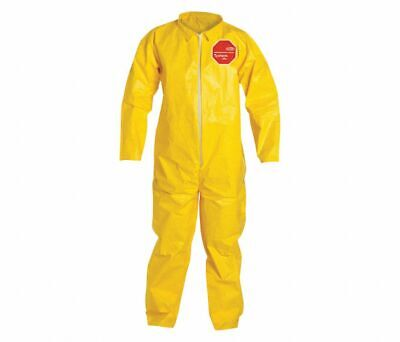Dupont Qc120syl4x001200 Coverall Tychem 2000 Material - Yellow 4xl - 12 Pack