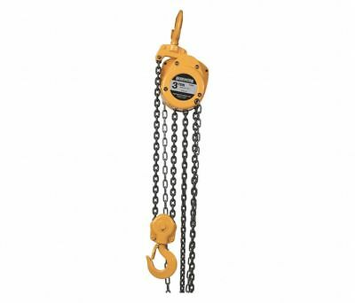 Harrington Cf030-10 Manual Chain Hoist 6000 Lb Capacity 10 Lift 6hjg6 New