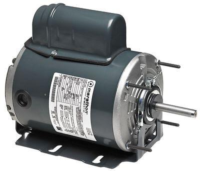 Aeration Fan Motor (1/2Hp Marathon 24PT97 Aeration Fan Motor,048A11T2023,115/230 V ,Free)