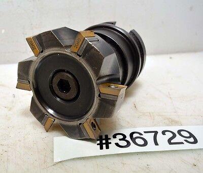 BT40 Holder with Sandvik Carbide Insert Milling Cutter (Inv.36729)
