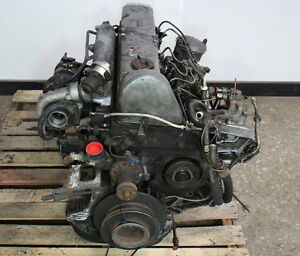 OM617 951 Mercedes Turbo Diesel Complete Engine Long Block W126 W123 300D
