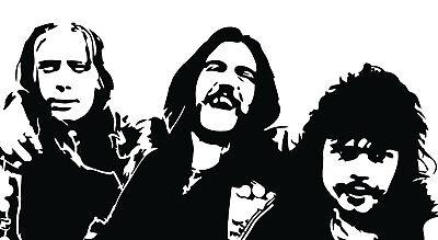 Lemmy Phil Taylor Fast Eddie Clarke Vinyl Decal Bumper Sticker Motorhead Cd