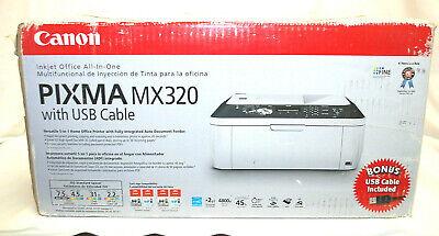 Canon PIXMA MX320 All-In-One Printer NEVER OPENED, Still Factory Sealed M4685 Canon Pixma Mx320 Colour