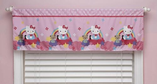 Sanrio Hello Kitty Stars & Rainbows Window Valance