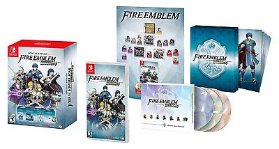Fire Emblem Warriors   Special Collectors Edition  Nintendo Switch  Marth  New