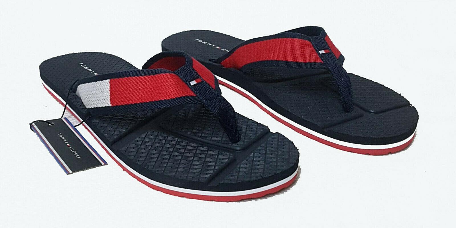 Neue Tommy Hilfiger Herren Freizeit Beach Sandalen Bade Schuhe Sandal Men 1368
