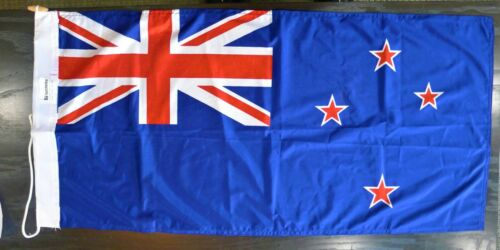 Vintage 1993 BSA  Boy Scouts New Zealand National Jamboree Flag NOS