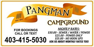 Pangman Campground or Residential Lots For Sale