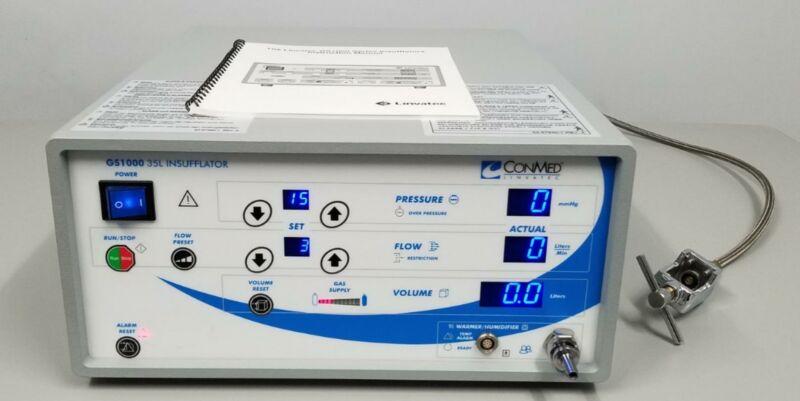 ConMed GS1000 Endoscopy 35L Abdominal Insufflator