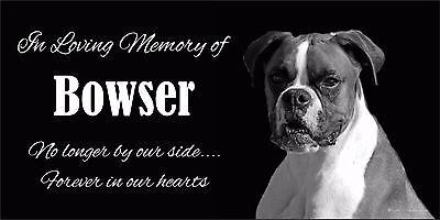 Personalized Pet Stone Memorial Grave Marker Granite Human Cat Dog 2017