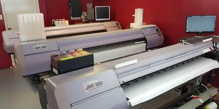 Mimaki Sublimation printers and press