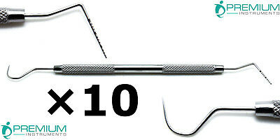 Premium Tools Williams Explorer Unc 1523 Color Coded Dental Probes Set Of 10