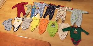 Boys 0-3 month clothing lot