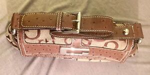 Guess Ostrich & Jacquard Shoulder Bag Belleville Belleville Area image 2