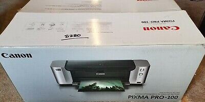 Canon PIXMA PRO 100 Digital Photo Inkjet Printer NO PRINT HEAD, NO INK