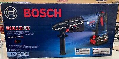 Bosch Gbh18v-26dk24 18v Sds 1 In Rotary Hammer Gde18v-26db15 Extractor Kit