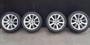SECONDHAND Genuine BMW X3/ 5 Series Wheels + Tyres Preston Darebin Area Preview