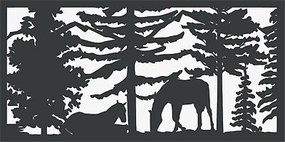 Dxf Files For Cnc Router Plasma Cutter Dxf Cdr Files Vector - Art Scene Horses