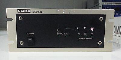 Ulvac Sepion Residual Gas Analyzers