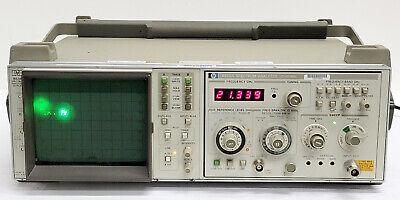 Hp 853a Spectrum Analyzer Display W Module 8559a .01-21ghz
