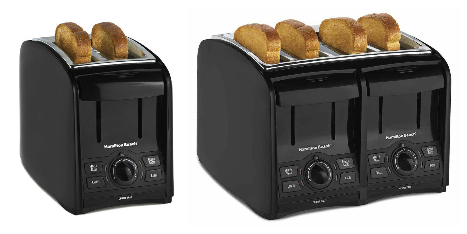 Hamilton Beach Cool Touch Toaster, 2 Sizes
