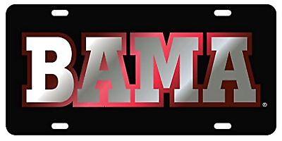 - Alabama Crimson Tide BAMA Laser Cut License Plate/ Auto Car Tag Licensed NCAA