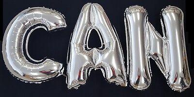 1X Folienballon 32 X 10 cm Buchstaben A-Z bebek sekeri nikah sünnet mevlit kina
