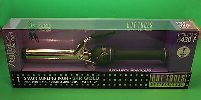(hot tools professional  1 inch curling iron)