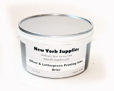 Drier For Letterpress Offset Printing Inks - 2.5 Lbs Each