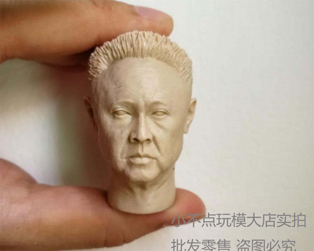 1//6 scale Kim Jong il Democratic People/'s Republic of Korea Leader Custom head