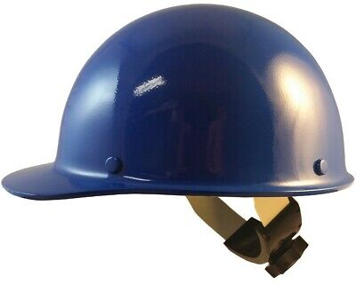 Msa Skullgard Cap Style With Swing Suspension - Blue