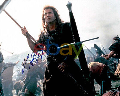 MEL GIBSON SIGNED PHOTO AUTHENTIC AUTOGRAPH BRAVEHEART LETHAL WEAPON MAX MAX Rep - $6.95